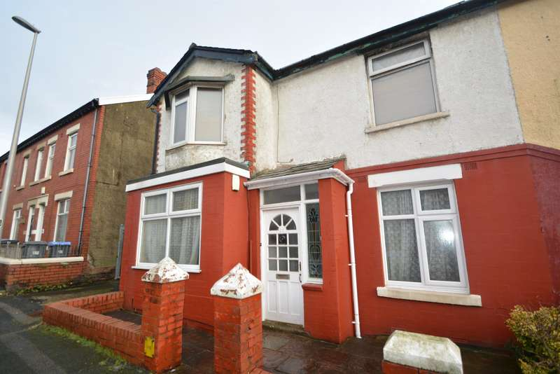 1 Bedroom Ground Flat for sale in Cunliffe Road, Blackpool, FY1 6RZ