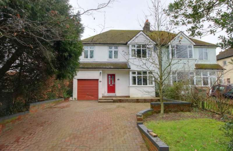 4 Bedrooms Semi Detached House for sale in EXTENDED with approx 125` REAR GARDEN in Chaulden lane, BOXMOOR
