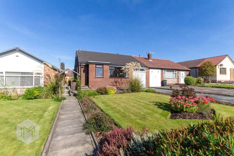 3 Bedrooms Semi Detached Bungalow for sale in Hough Fold Way, Bolton, Greater Manchester, BL2