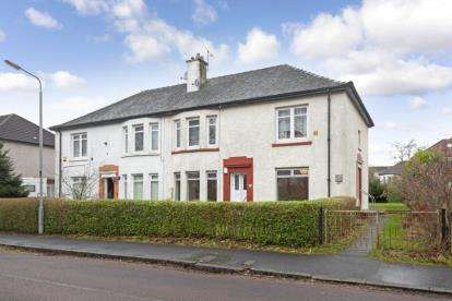 2 Bedrooms Flat for sale in Clarion Crescent, Knightswood