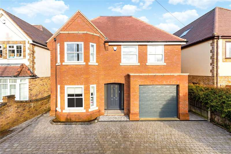 5 Bedrooms Detached House for sale in Ragged Hall Lane, St. Albans, Hertfordshire, AL2