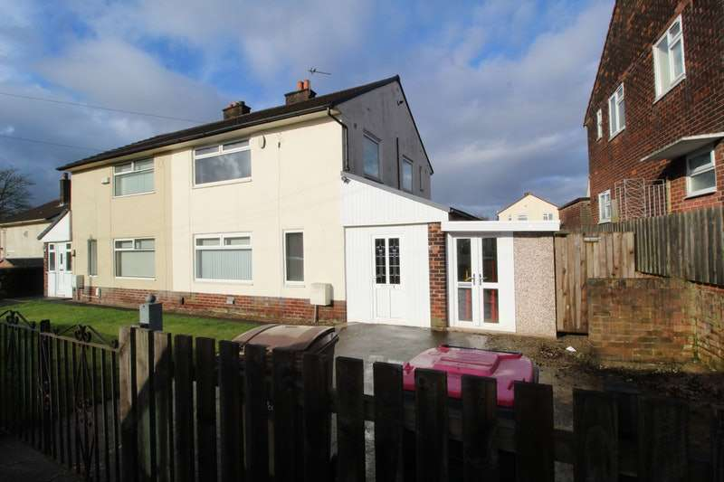 3 Bedrooms Semi Detached House for sale in Ladywell Avenue, Manchester, Greater Manchester, M38