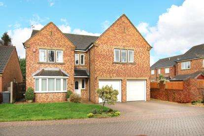 4 Bedrooms Detached House for sale in Farrington Court, Wickersley, Rotherham, South Yorkshire