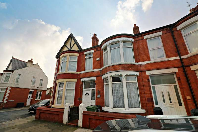 3 Bedrooms Terraced House for sale in Deveraux Drive, Wallasey, CH44 4DQ
