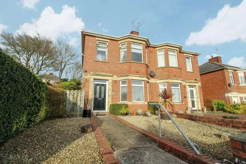 3 Bedrooms Semi Detached House for sale in Lodge Road, Caerleon, Newport, NP18