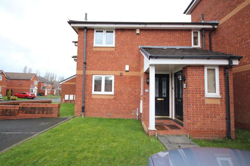 1 Bedroom Apartment Flat for sale in Padiham Close, Leigh, WN7 2RU