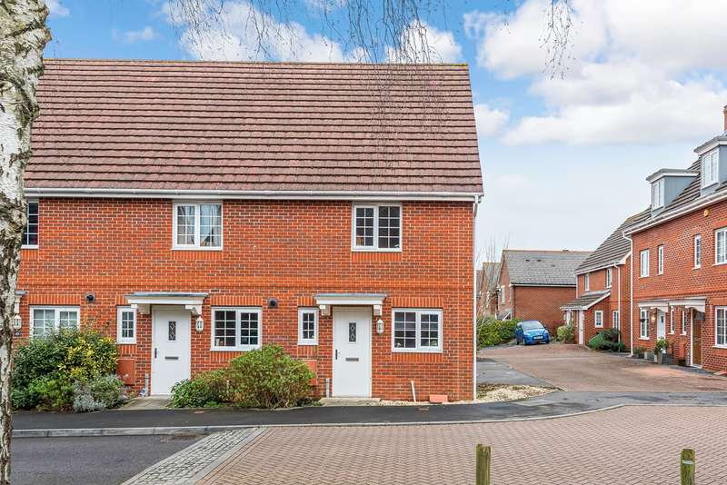 2 Bedrooms End Of Terrace House for sale in School Close, Basingstoke, RG22