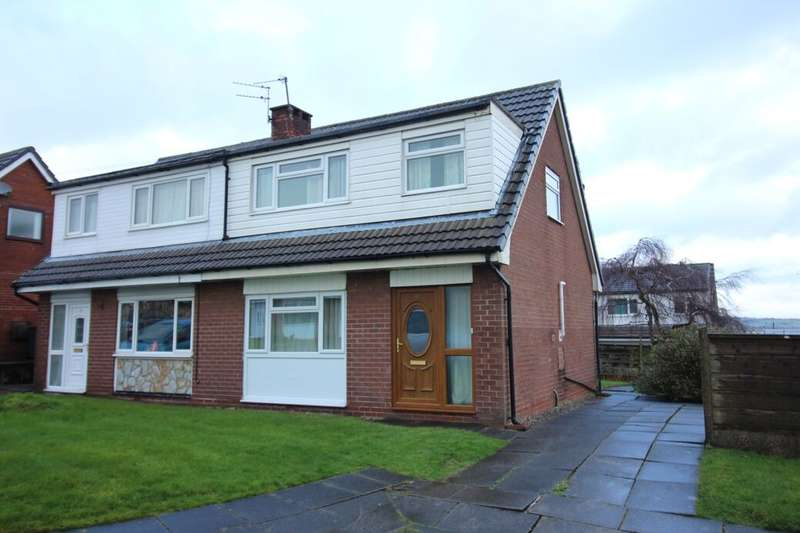 3 Bedrooms Semi Detached House for sale in Winmarleigh Close, Bury, BL8