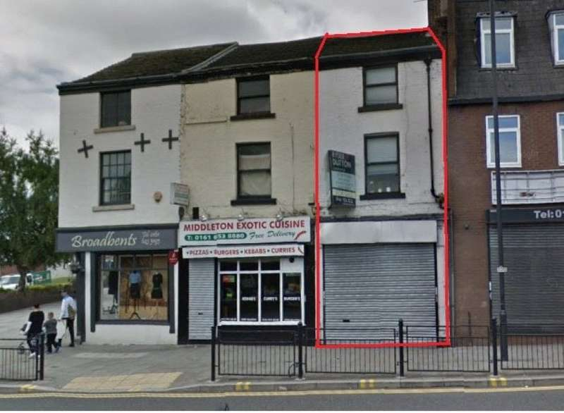 1 Bedroom Commercial Property for sale in 69 Long Street, Middleton, Manchester
