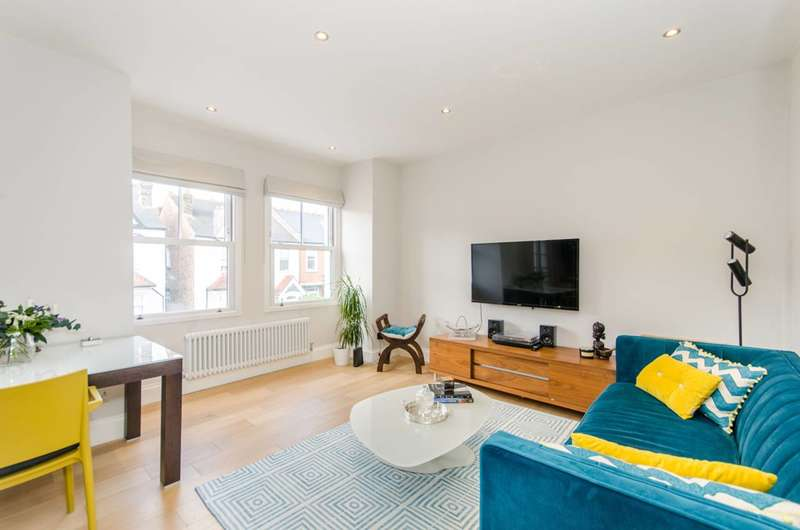 2 Bedrooms Flat for sale in Kingsley Avenue, West Ealing, W13