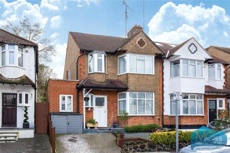 4 Bedrooms Semi Detached House for sale in Birley Road, Whetstone, London, N20