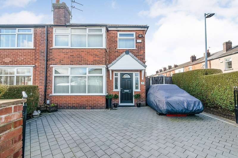 3 Bedrooms Semi Detached House for sale in Egerton Road, Worsley, Manchester, M28