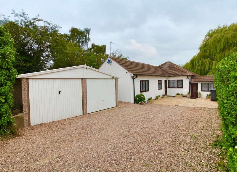 3 Bedrooms Detached Bungalow for sale in Station Road, Thurnby, Leicester
