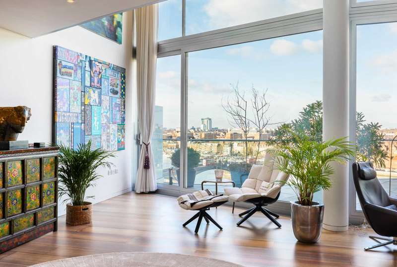 4 Bedrooms Apartment Flat for sale in Albion Riverside, 8 Hester Road, London, SW11