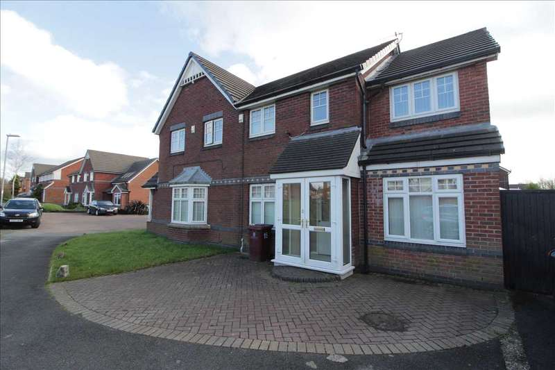 3 Bedrooms Semi Detached House for sale in Viola Close, Kirkby