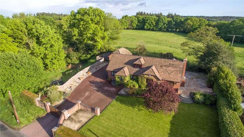 4 Bedrooms Detached House for sale in Cranborne Road, Cripplestyle, Fordingbridge, Hampshire, SP6