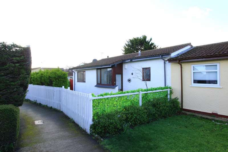 2 Bedrooms Semi Detached Bungalow for sale in Tegfan, Abergele, Conwy, LL22