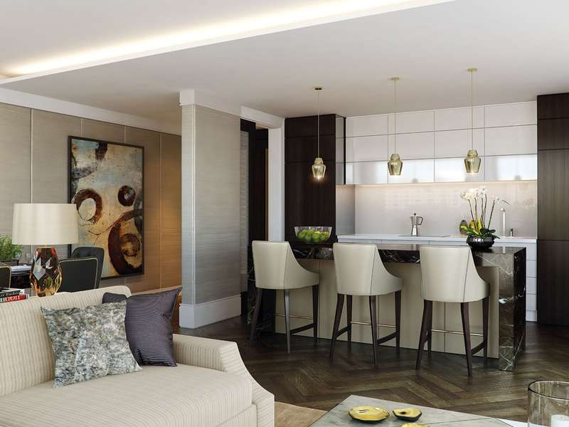 2 Bedrooms Apartment Flat for sale in Southbank Place , London , London , SE1