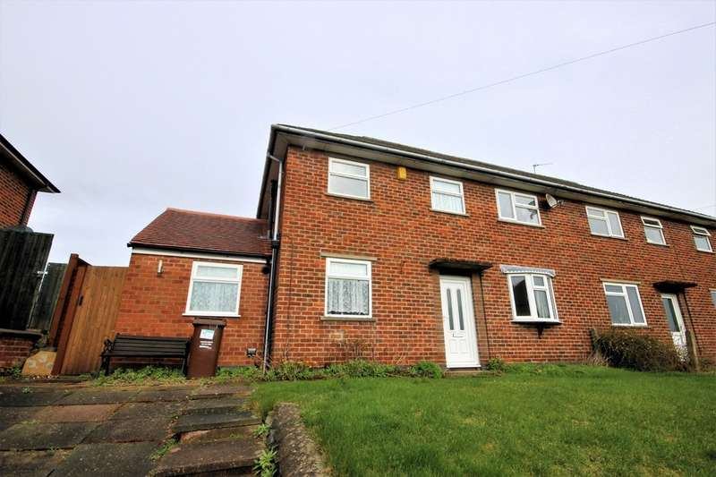 3 Bedrooms Semi Detached House for sale in Golden Square, Hathern
