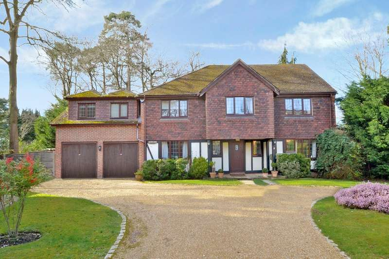 5 Bedrooms Detached House for sale in Timber Close, Pyrford, GU22