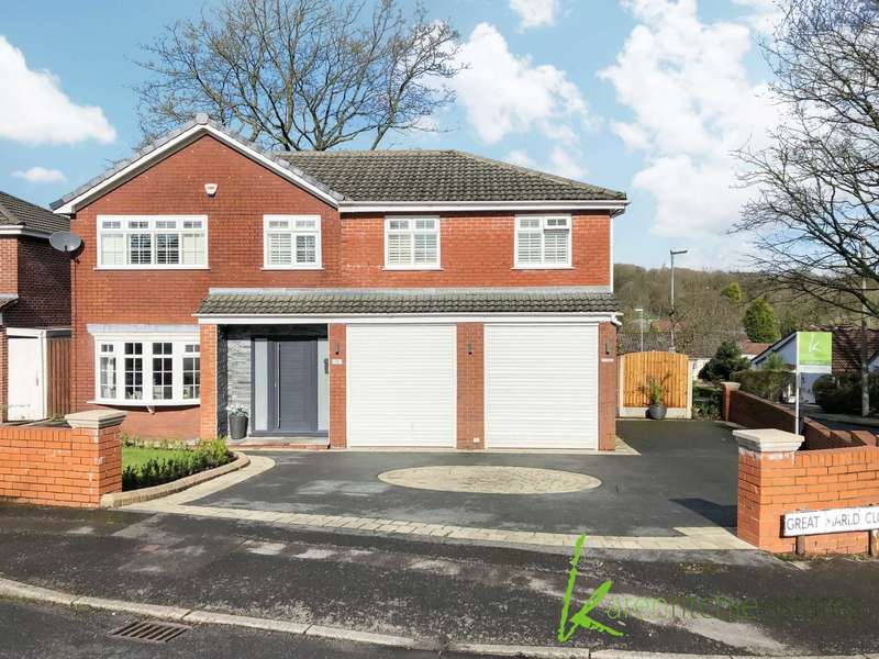 4 Bedrooms Detached House for sale in Great Marld Close, Bolton
