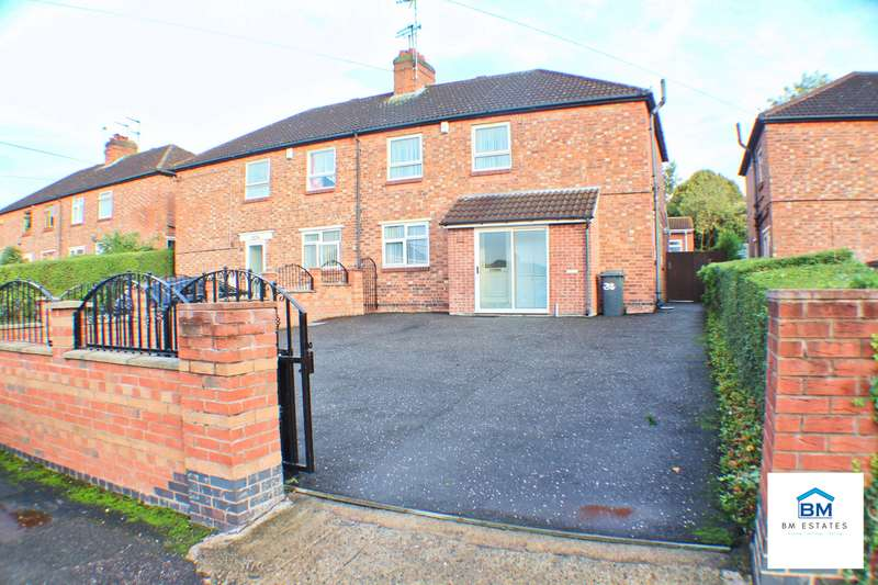 3 Bedrooms Semi Detached House for sale in Thorpewell, Leicester, LE5