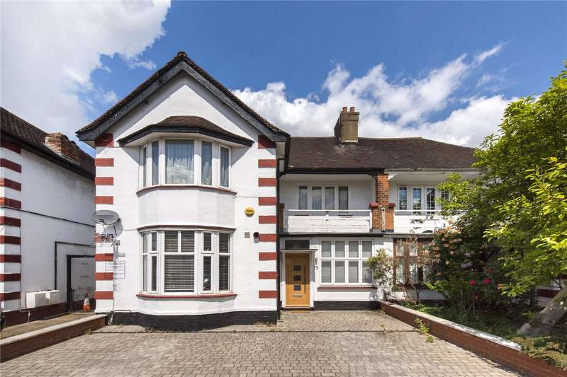 2 Bedrooms Flat for sale in Sylvan Avenue, Mill Hill, London