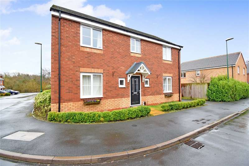 4 Bedrooms Detached House for sale in 22 The Horseshoes, Newport, Shropshire, TF10