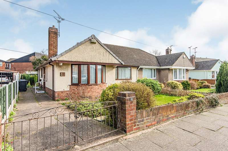 2 Bedrooms Semi Detached Bungalow for sale in Pearwood Crescent,, Balby, Doncaster, DN4