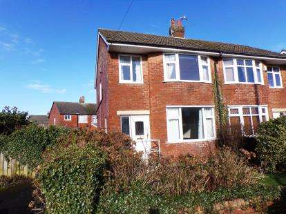 3 Bedrooms Semi Detached House for sale in Blenheim Drive, Thornton-Cleveleys, Lancashire, FY5