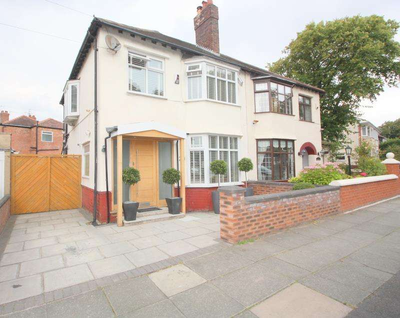 3 Bedrooms Semi Detached House for sale in Moorside Road, Liverpool