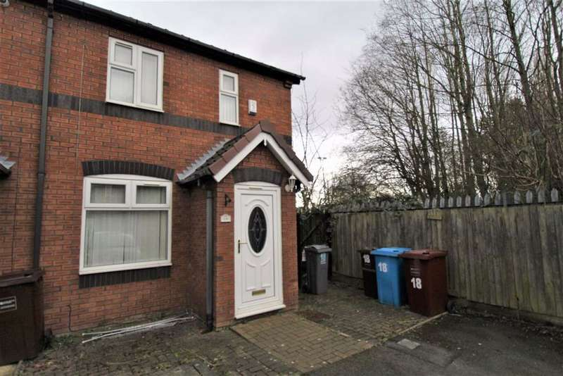 2 Bedrooms End Of Terrace House for sale in Bracewell Close, Levenshulme