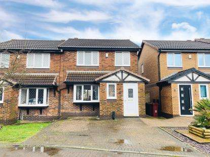 3 Bedrooms Semi Detached House for sale in Farrington Close, Blackburn, Lancashire, BB2