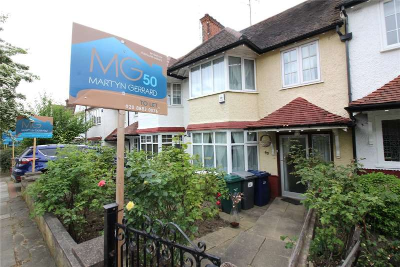 3 Bedrooms Terraced House for sale in Brent Way, West Finchley, London, N3