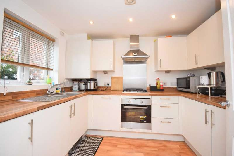 3 Bedrooms End Of Terrace House for sale in Limes Park, Basingstoke, RG24
