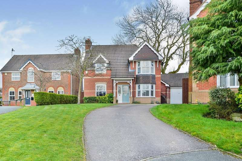 5 Bedrooms Detached House for sale in Beverley Way, Tytherington, Macclesfield, Cheshire, SK10