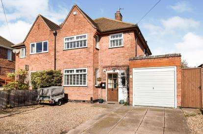 3 Bedrooms Semi Detached House for sale in Greengate Lane, Birstall, Leicester, Leicestershire