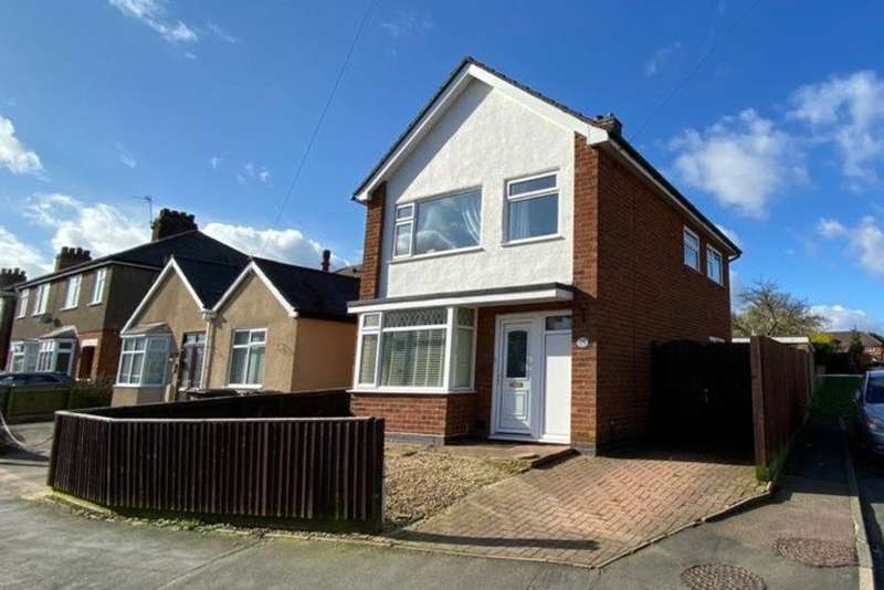 3 Bedrooms Detached House for sale in Elmhurst Avenue, Melton Mowbray