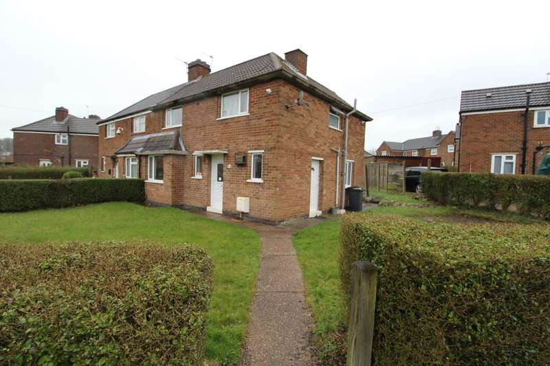 3 Bedrooms Semi Detached House for sale in Swithland Road, Coalville, LE67