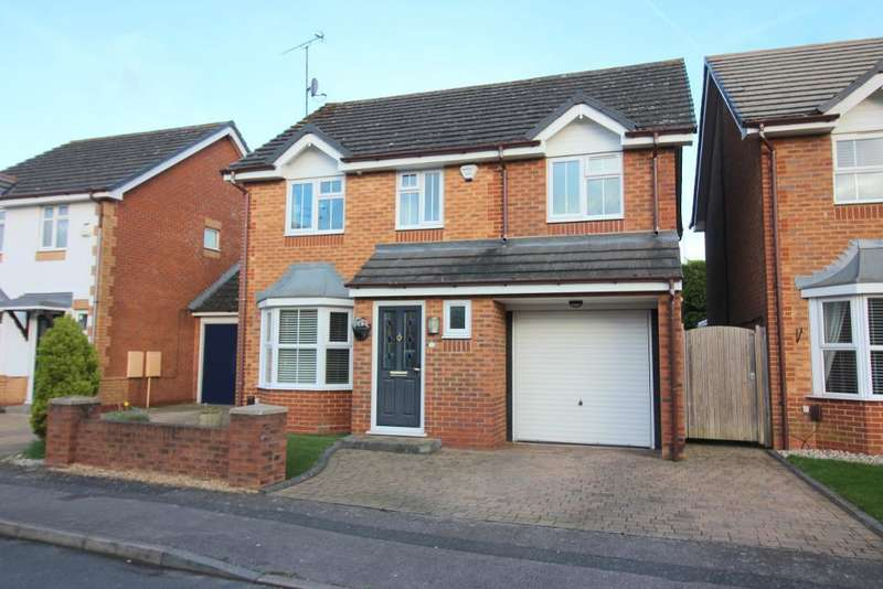 4 Bedrooms Detached House for sale in Sacombe Green, Luton, Bedfordshire, LU3 4EW