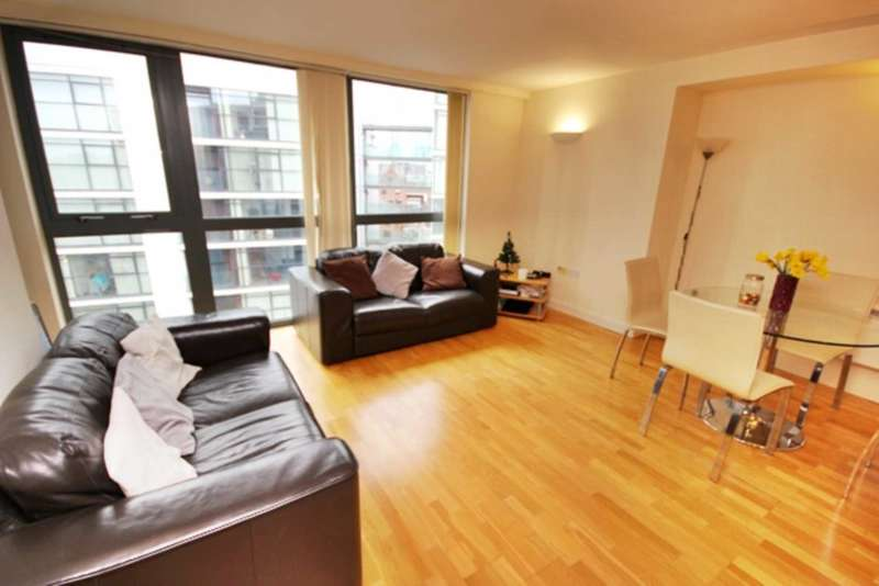 2 Bedrooms Apartment Flat for sale in City Road East, Manchester