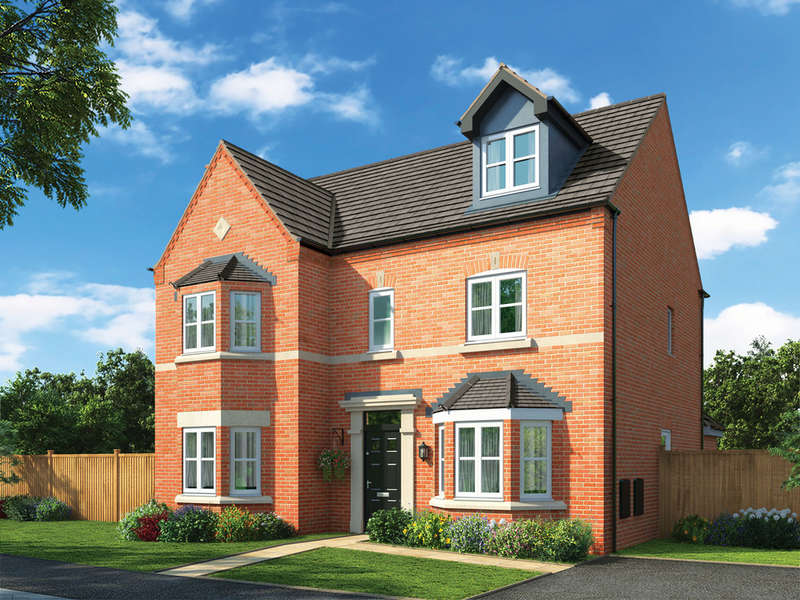 5 Bedrooms Detached House for sale in Norton Rise , Main Road, Austrey
