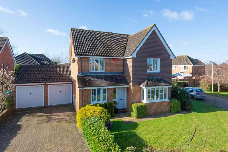 4 Bedrooms Detached House for sale in Temple Close, Knights Park, Ashford, TN23