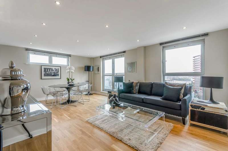 3 Bedrooms Flat for sale in Balmes Road, De Beauvoir Town, N1