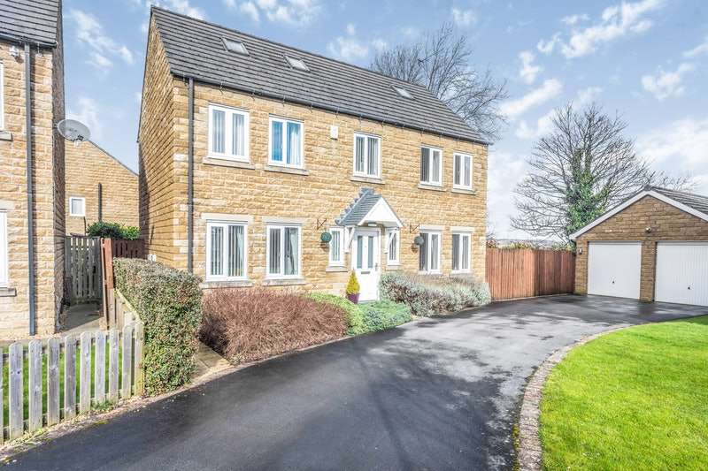 5 Bedrooms Detached House for sale in Wadsworth Court, Cleckheaton, West Yorkshire, BD19