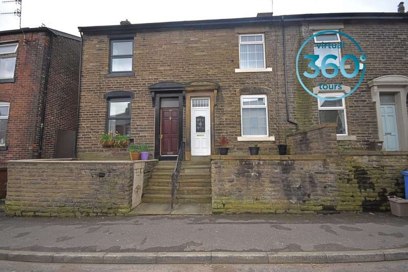 2 Bedrooms Terraced House for sale in Featherstall Road, Littleborough OL15