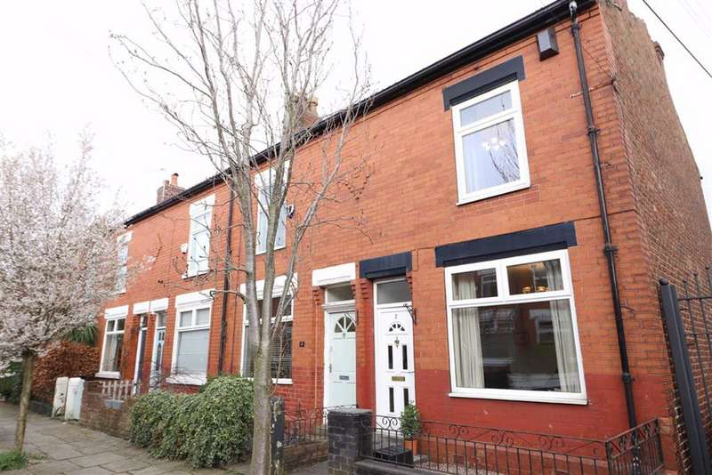 2 Bedrooms End Of Terrace House for sale in Vicars Road, Chorlton Green, Manchester, M21