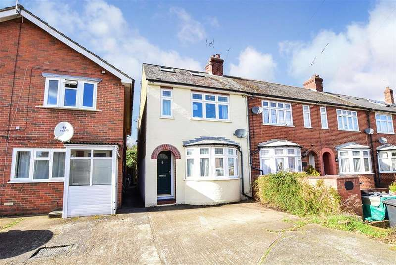 3 Bedrooms End Of Terrace House for sale in Broad Oak Road, , Canterbury, Kent