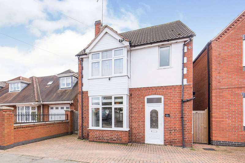 3 Bedrooms Detached House for sale in Equity Road East, Earl Shilton, Leicester, Leicestershire, LE9