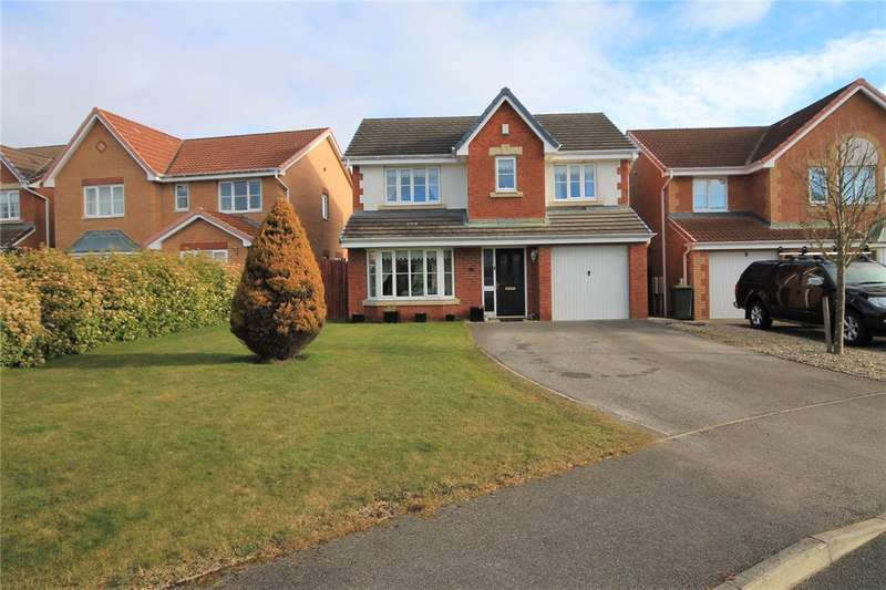 4 Bedrooms Detached House for sale in Holwick Close, Consett, County Durham, DH8